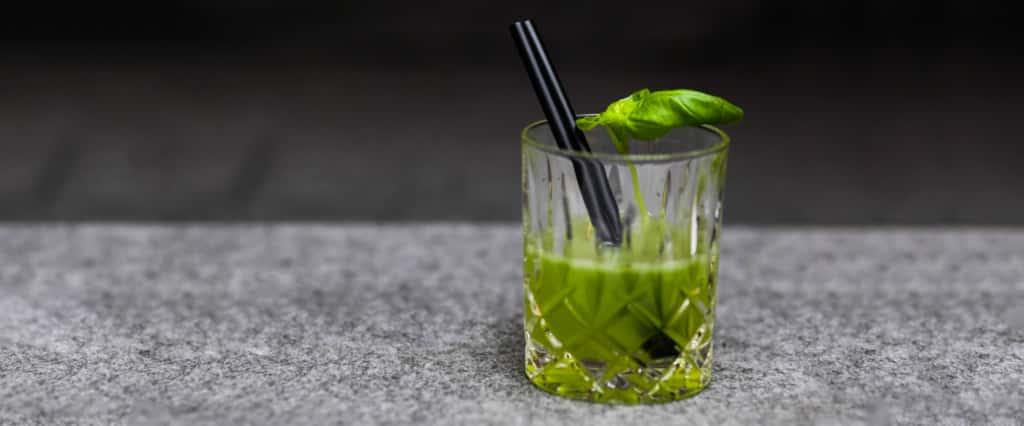 Gin Basil Smashh