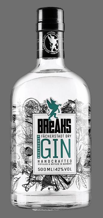 Breaks Gin - Fächerstadt Dry Gin