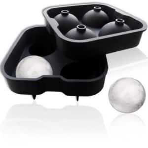 Runde Eiskugeln
