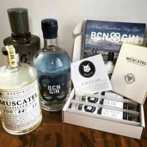 """Inhalt der """"Wein im Gin"""" Box"""