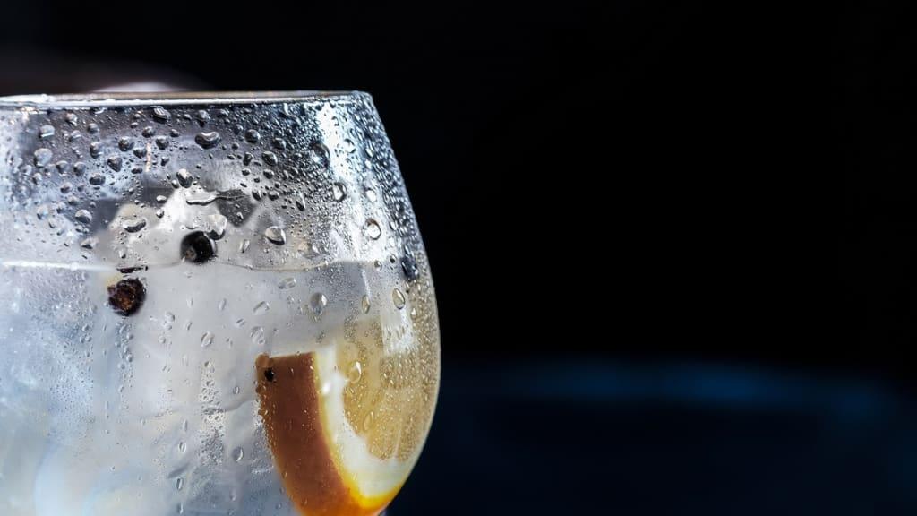 Gin Eiswürfel