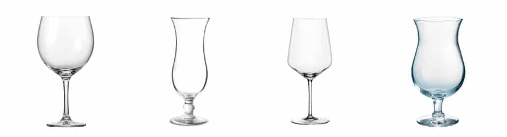 Das Fancyglas: Durch seine bauchige Form vor allem für Cocktails sehr beliebt
