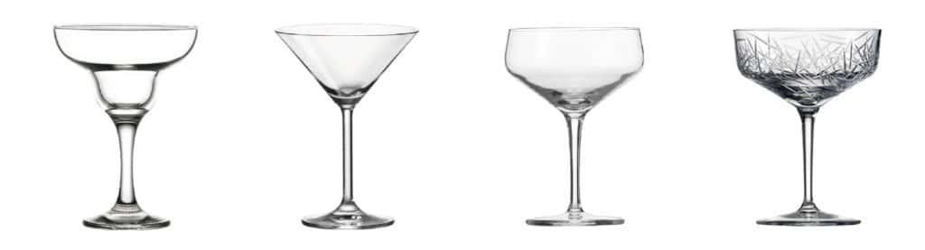 Die Cocktailschale: Perfekt geeignet für edle Cocktails wie ein Dry Martini