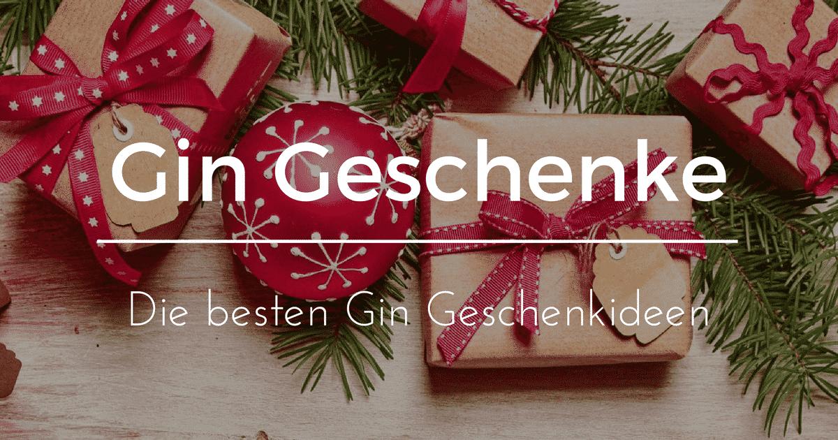 ᐅ Gin Geschenke: Gin Geschenkideen zu Weihnachten | Gintlemen.com