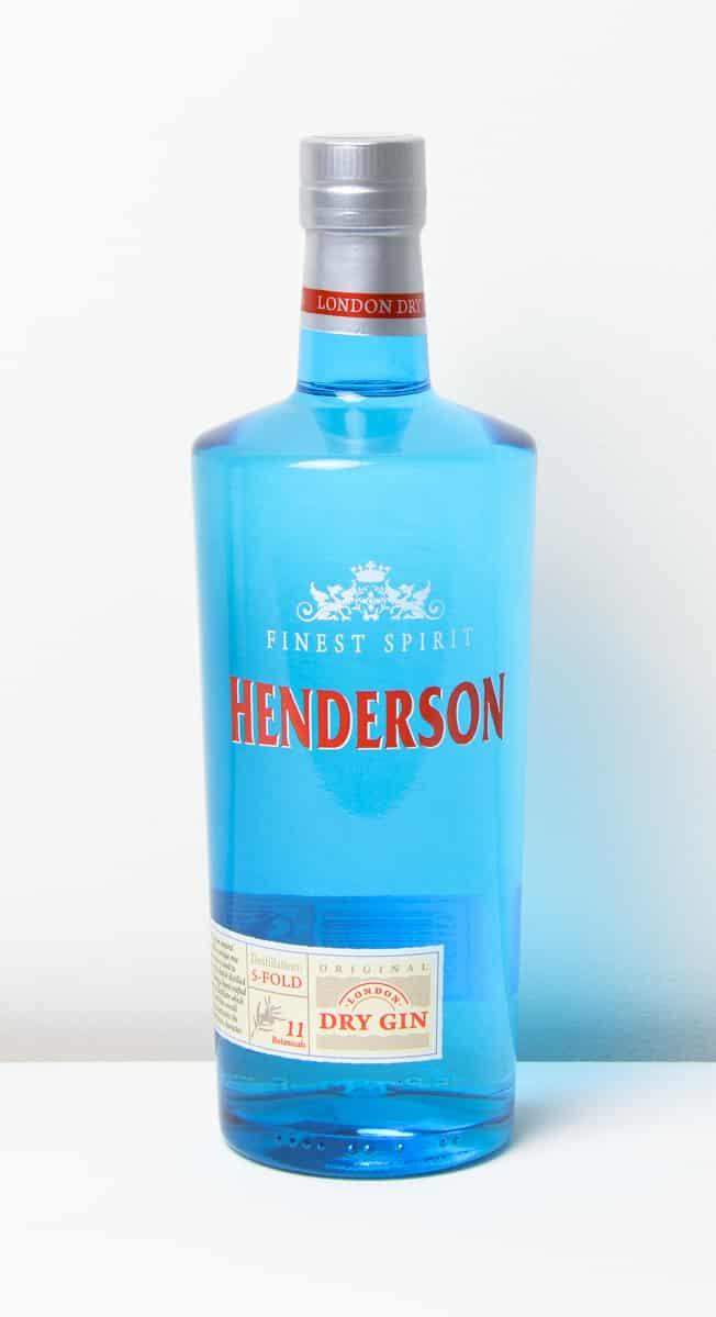 Gin Blaue Flasche