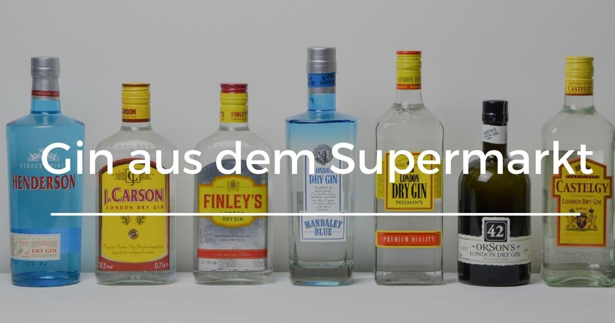 Auto Kühlschrank Kaufland : ᐅ gin aus discounter & supermarkt im test gintlemen.com