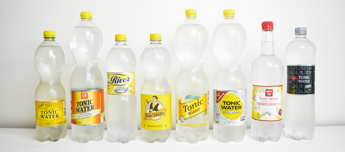 ᐅ Tonic Water aus Discounter & Supermarkt im Test | Gintlemen.com